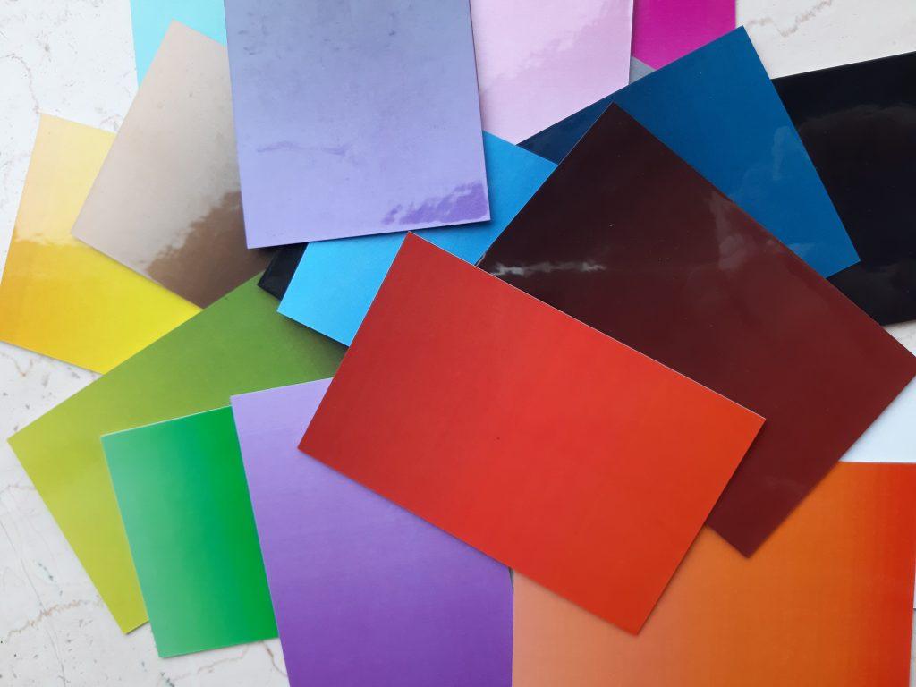 de taal van kleur