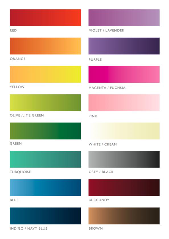Colour comfort, taal van kleur